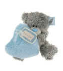 peluche Ours Me to You coeur bleu 20 cm