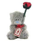 peluche Peluche Coffret Ours Me to You avec rose