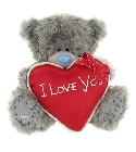 peluche Peluche Ours Me to You 23 cm coeur rouge