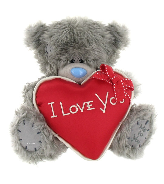 impression de l 39 article peluche ours me to you 23 cm coeur rouge chez doudou. Black Bedroom Furniture Sets. Home Design Ideas