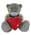 peluche Peluche Ours Me to You 40 cm coeur rouge