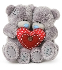 peluche Peluche Me To You couple d'ours