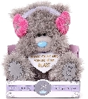 peluche Ours Me to You cache oreilles 23 cm