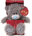 peluche Ours Me to You boite cadeau rouge 16 cm