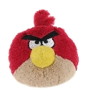 Peluche Angry Birds rouge 13 cm