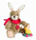 peluche Ours de collection lapin fils 20 cm