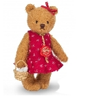 peluche Ours en peluche de collection Irmi 14 cm