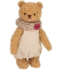 peluche Ours Teddy de collection Elena 14 cm