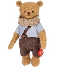 peluche Ours Teddy de collection Leonardo 27 cm