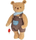 peluche Ours Teddy de collection Lorenzo 30 cm