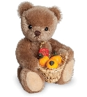 peluche Ours en peluche de collection Rudi 17 cm