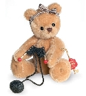 peluche Ours Teddy de collection pelote 16 cm