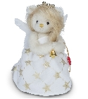 peluche Ours Teddy de collection ange Gloria 18 cm
