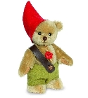 peluche Ours teddy de collection Wichtel 17 cm