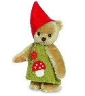 peluche Ours teddy de collection Witcheline 17 cm