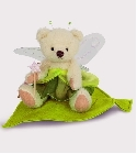 peluche Ours Teddy de collection Elfe nature 13 c...