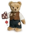 peluche Ours de collection Hansel 17 cm