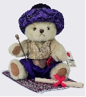 peluche Ours Teddy de collection Aladin 30 cm