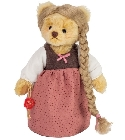 peluche Ours Teddy de collection Raiponce 22 cm