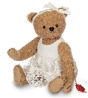 peluche Ours en peluche de collection Babette 28 cm