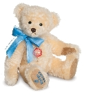 peluche Ours f�licitations Vanille bleu � broderie 33