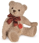 peluche Ours Teddy de collection Sable 19 cm