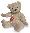 peluche Ours de collection sable en alpaga 19 cm
