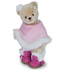 peluche Ours Teddy de collection Tatjana 27 cm