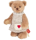 peluche Ours Teddy de collection Alice 18 cm