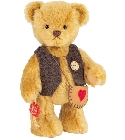 peluche Ours Teddy de collection Tim 18 cm
