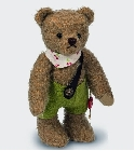 peluche Ours Teddy de collection Erich 22 cm
