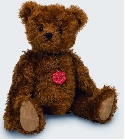 peluche Ours Teddy de collection Burkhardt 45 cm