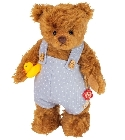 peluche Ours Teddy de collection Enrico 25 cm