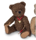 peluche Ours Teddy de collection Gero 20 cm