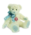 Peluche Ours de collection flocon de neige 30 cm