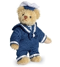 peluche Ours de collection miniature Marin 11 cm