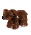 peluche Ours de collection grizzli miniature 10 cm