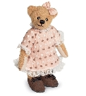 peluche Ours de collection Evelyn 16 cm