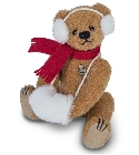 peluche Ours Teddy de collection Carlotta 16 cm
