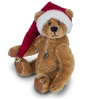 peluche Ours Teddy de collection Noël 12 cm