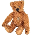 peluche Ours Teddy de collection Antique marron 10 cm