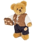 peluche Ours Teddy de collection Hansel 10 cm