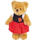 peluche Ours Teddy de collection Gretel 10 cm