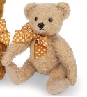 peluche Ours en peluche de collection antique beige