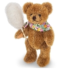 peluche Ours en peluche de collection barbe a papa