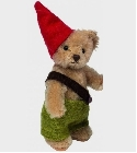 peluche Ours Teddy de collection gnome garçon 10 cm