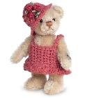 peluche Ours de collection Magdalena 10 cm