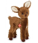 peluche Peluche de collection faon 26 cm