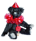 peluche Ours de collection Harlekin 14 cm