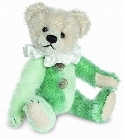 peluche Ours teddy de collection Harlequin 10 cm